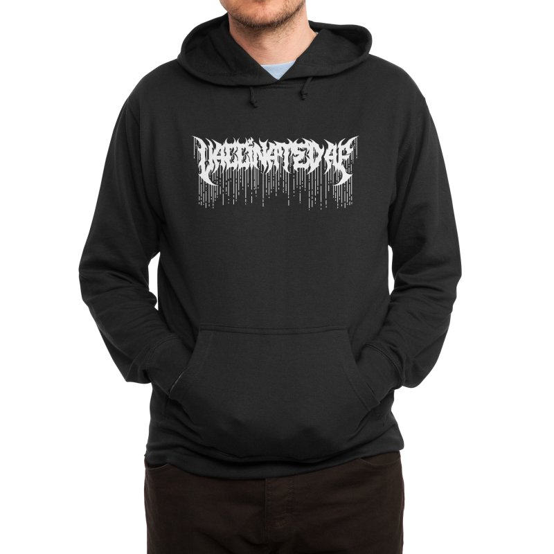 Vaccinated AF Men's Pullover Hoody by Doctor Popular's Shop