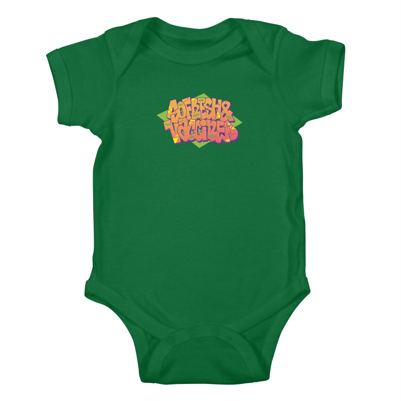 So Fresh & Vaccined (Wild Style) Kids Baby Bodysuit by Doctor Popular's Shop