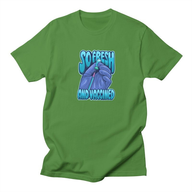 So Fresh And Vaccined Men's T-Shirt by Doctor Popular's Shop