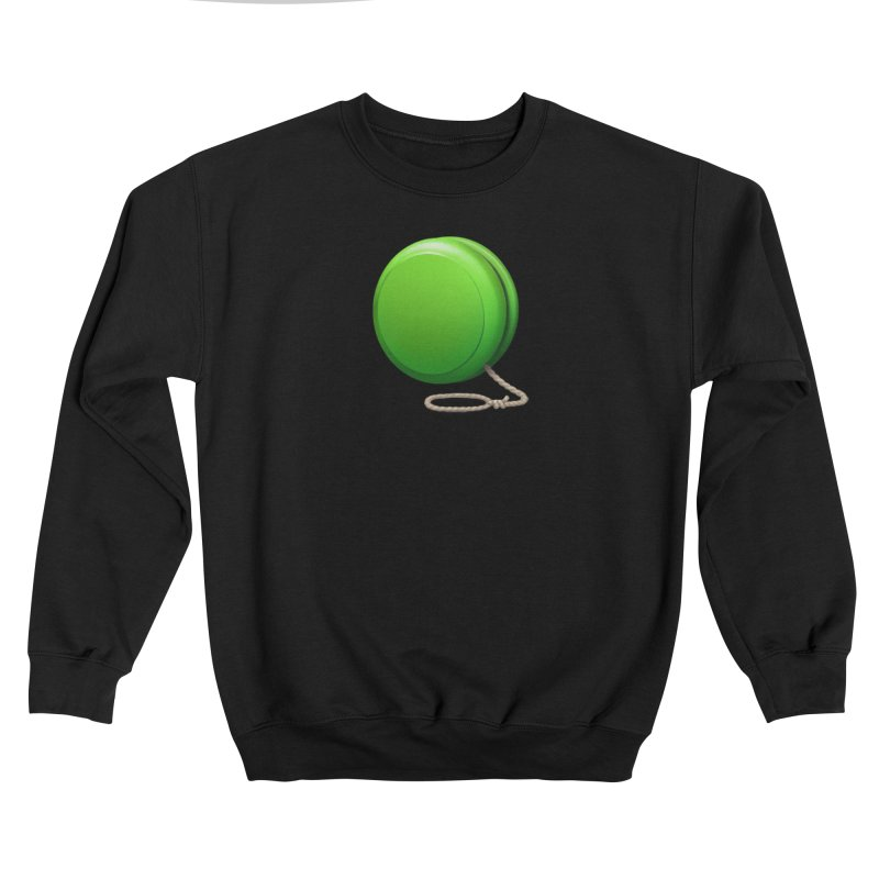 Yo-Yo Emoji  Men's Sweatshirt by Doctor Popular's Shop