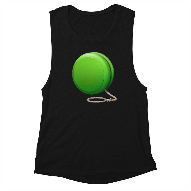 Yo-Yo Emoji  Women's Tank by Doctor Popular's Shop