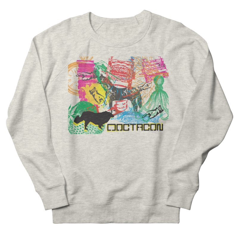Vintage Logo Men's French Terry Sweatshirt by Doctacon's Artist Shop
