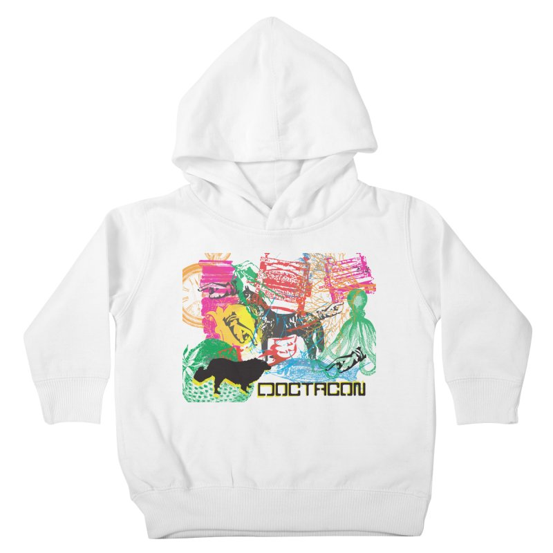 Vintage Logo Kids Toddler Pullover Hoody by Doctacon's Artist Shop
