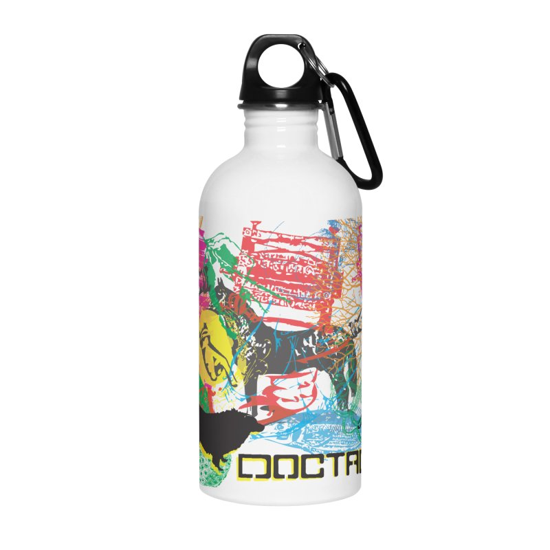 Vintage Logo Accessories Water Bottle by Doctacon's Artist Shop