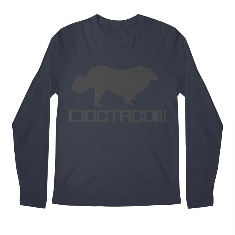 Distressed Logo Men's Longsleeve T-Shirt by Doctacon's Artist Shop