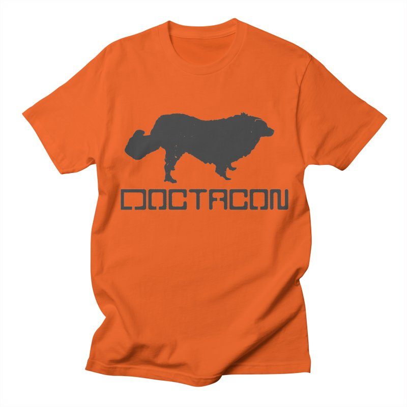 Distressed Logo Men's T-Shirt by Doctacon's Artist Shop