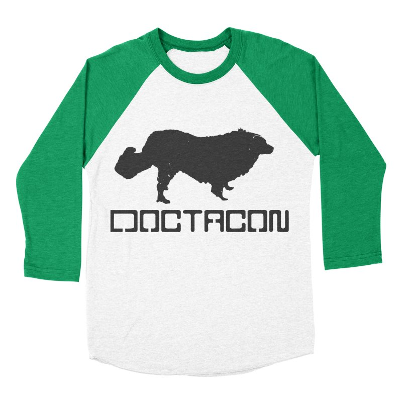 Distressed Logo Men's Baseball Triblend Longsleeve T-Shirt by Doctacon's Artist Shop