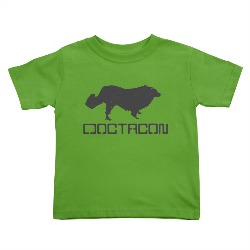 Distressed Logo Kids Toddler T-Shirt by Doctacon's Artist Shop