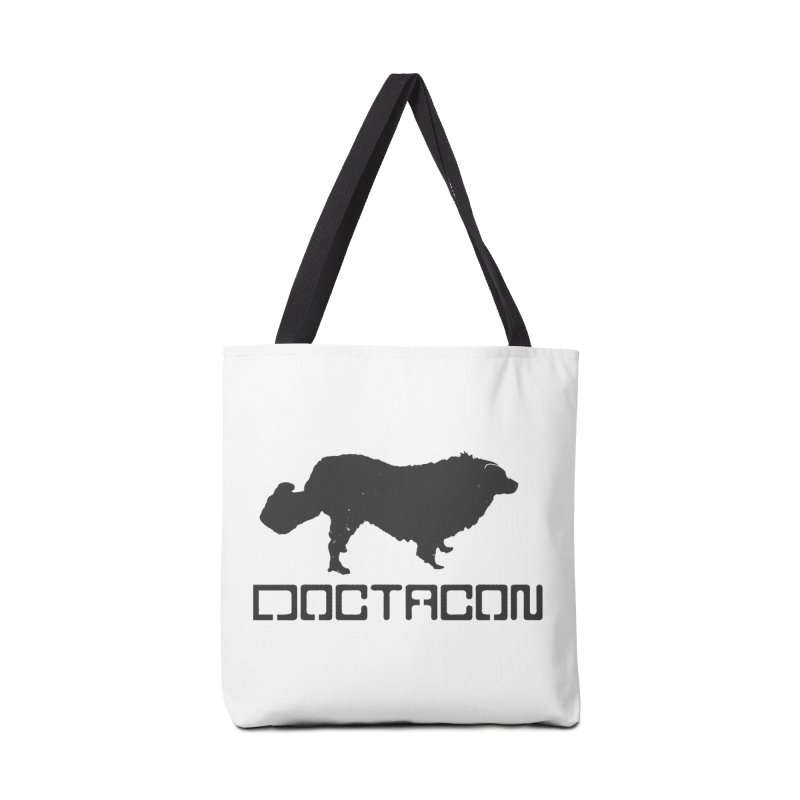Distressed Logo Accessories Bag by Doctacon's Artist Shop