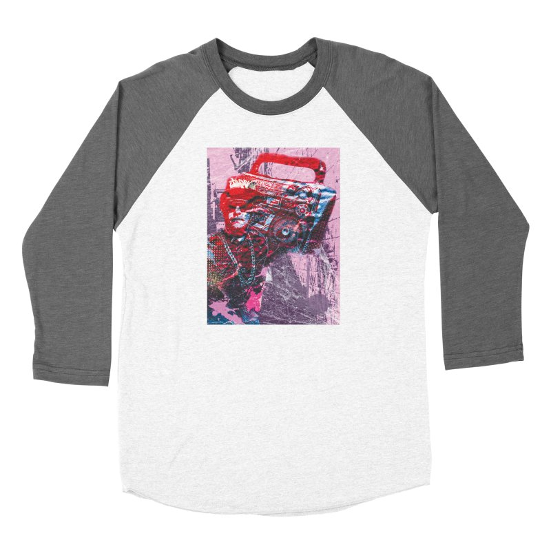 Boombox Women's Longsleeve T-Shirt by Doctacon's Artist Shop