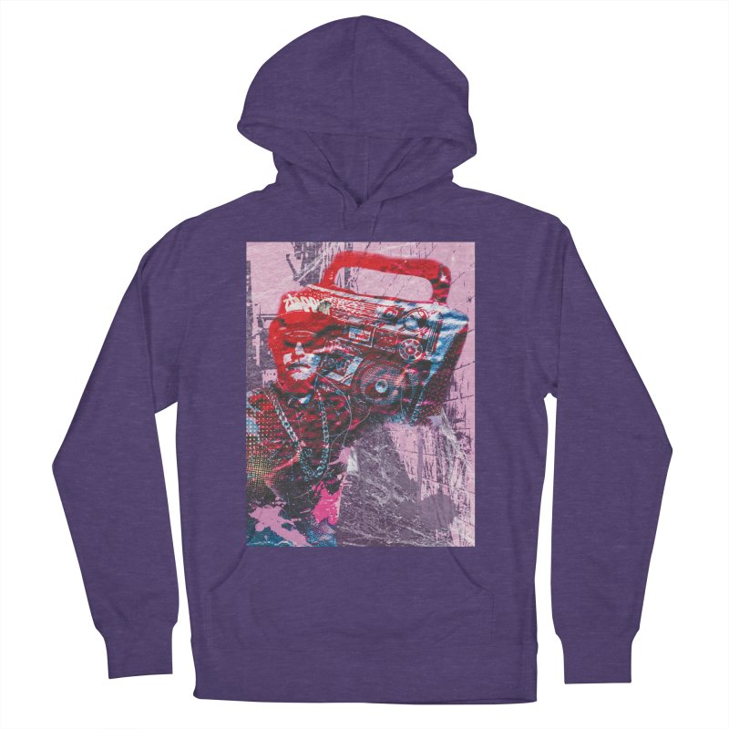 Boombox Women's French Terry Pullover Hoody by Doctacon's Artist Shop