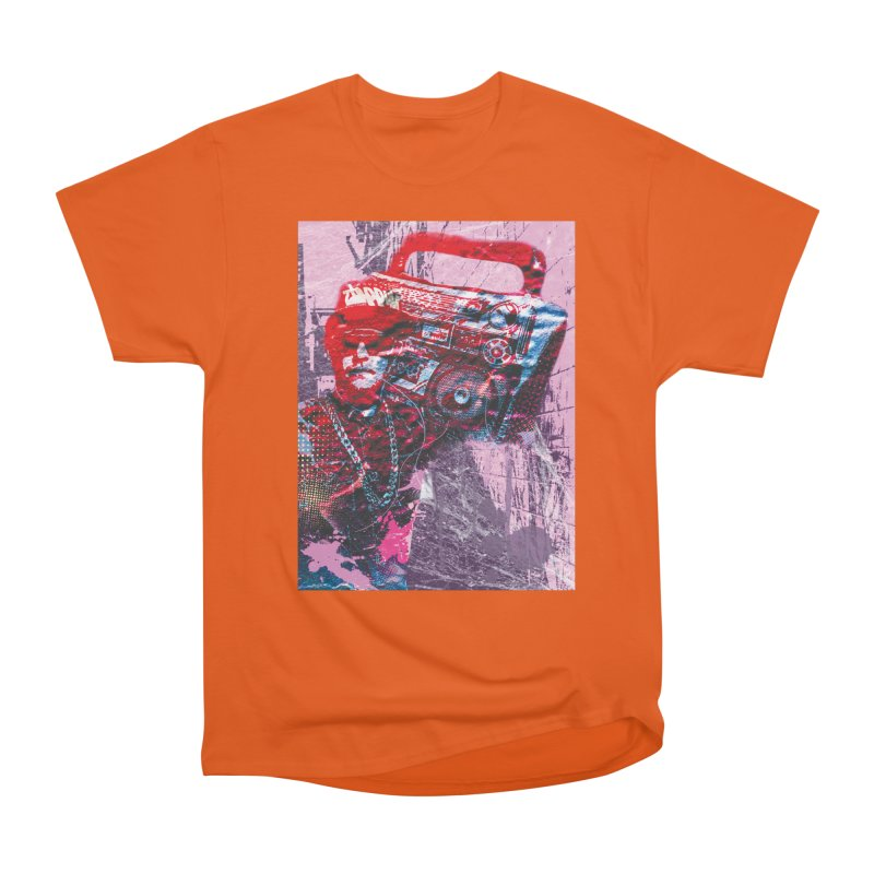 Boombox Men's Heavyweight T-Shirt by Doctacon's Artist Shop