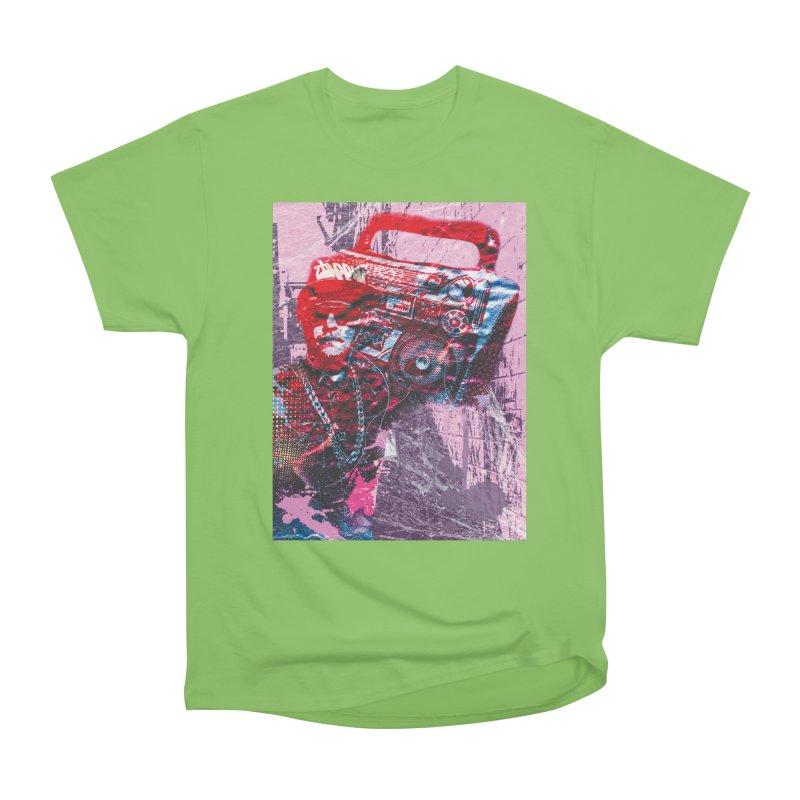 Boombox Women's Heavyweight Unisex T-Shirt by Doctacon's Artist Shop