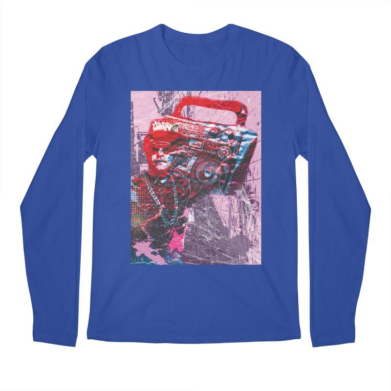 Boombox Men's Longsleeve T-Shirt by Doctacon's Artist Shop