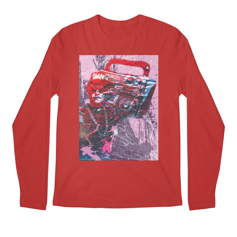 Boombox Men's Longsleeve T-Shirt by Doctacon's Artist Shop