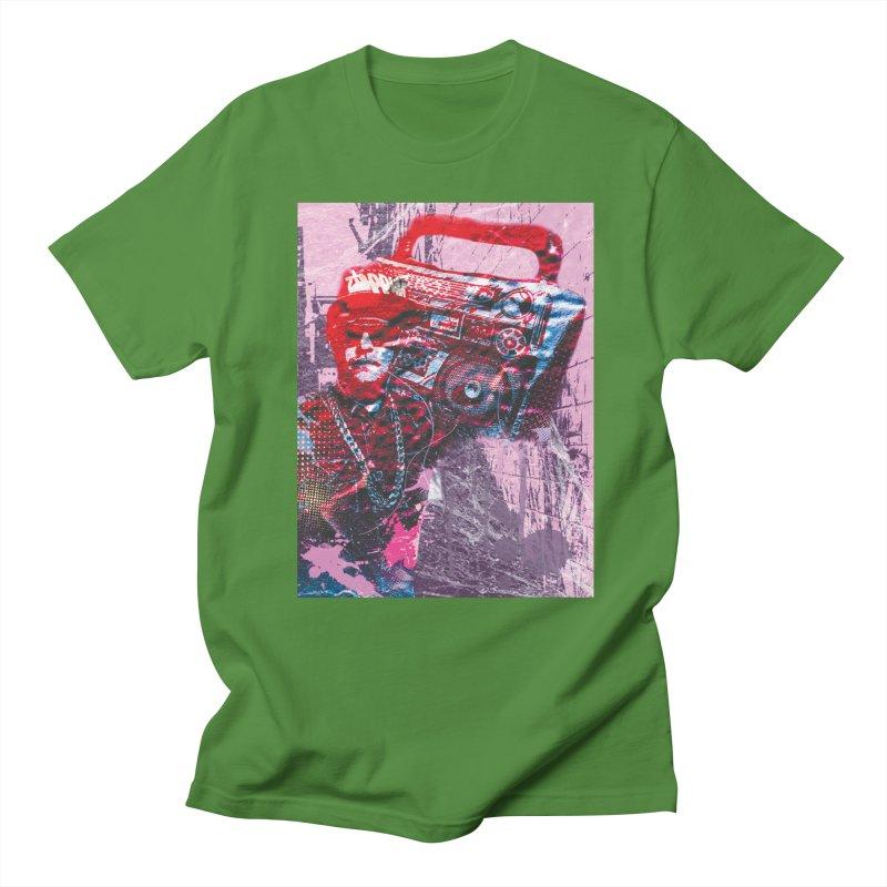 Boombox Men's Regular T-Shirt by Doctacon's Artist Shop