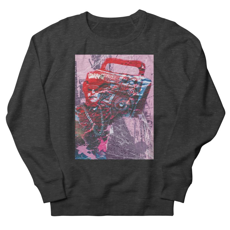 Boombox Men's Sweatshirt by Doctacon's Artist Shop