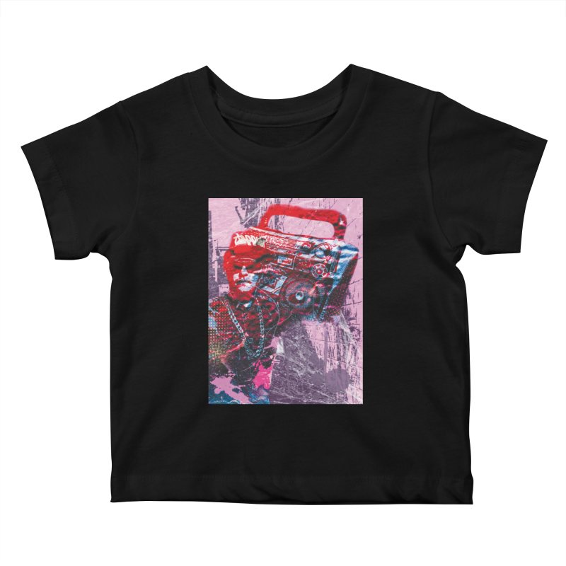 Boombox Kids Baby T-Shirt by Doctacon's Artist Shop
