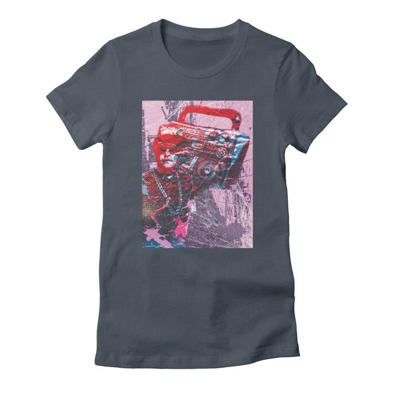Boombox Women's T-Shirt by Doctacon's Artist Shop