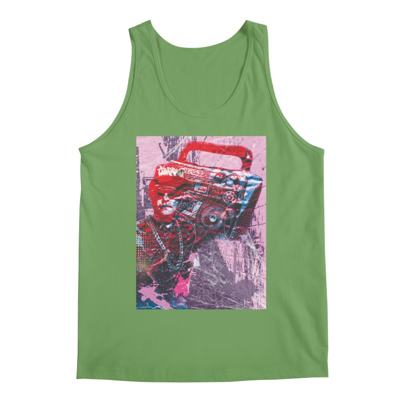Boombox Men's Tank by Doctacon's Artist Shop
