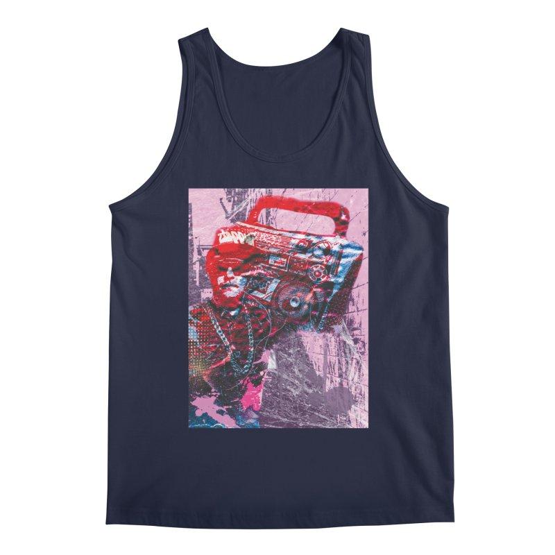 Boombox Men's Tank by Doctacon's Artist Shop