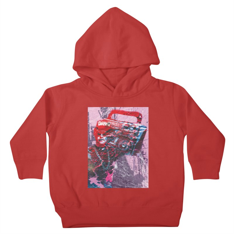 Boombox Kids Toddler Pullover Hoody by Doctacon's Artist Shop