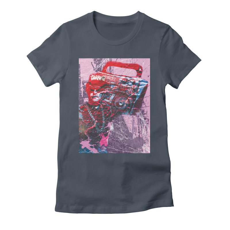 Boombox Women's T-Shirt by Doctacon's Artist Shop