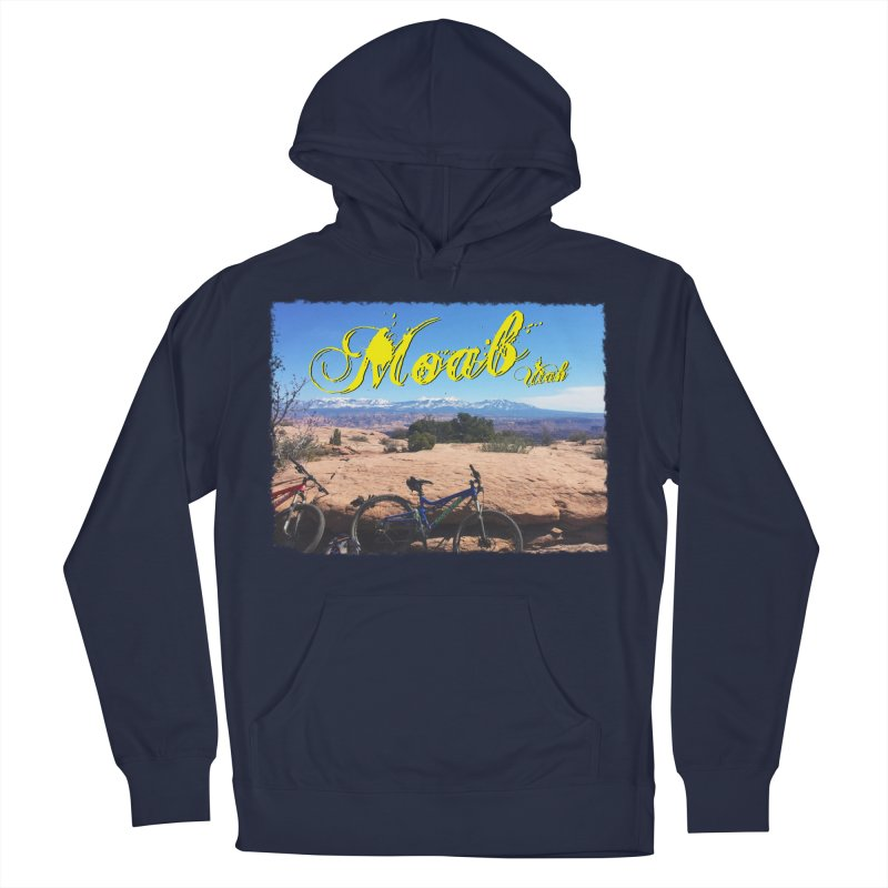 Moab Bliss Men's French Terry Pullover Hoody by Doctacon's Artist Shop
