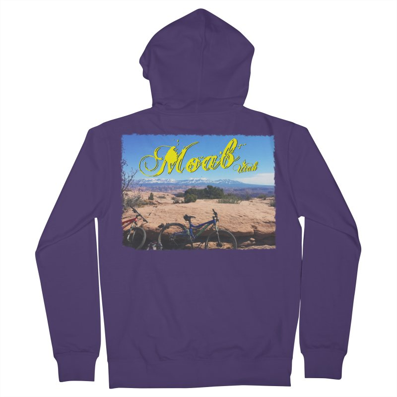 Moab Bliss Women's Zip-Up Hoody by Doctacon's Artist Shop