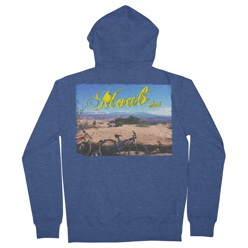 Moab Bliss Men's Zip-Up Hoody by Doctacon's Artist Shop
