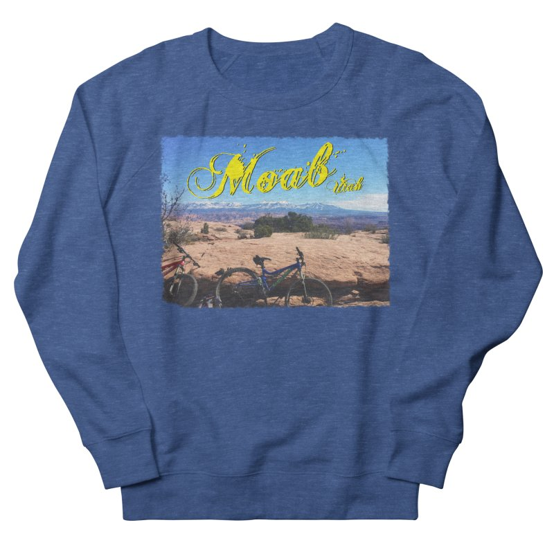 Moab Bliss Men's French Terry Sweatshirt by Doctacon's Artist Shop