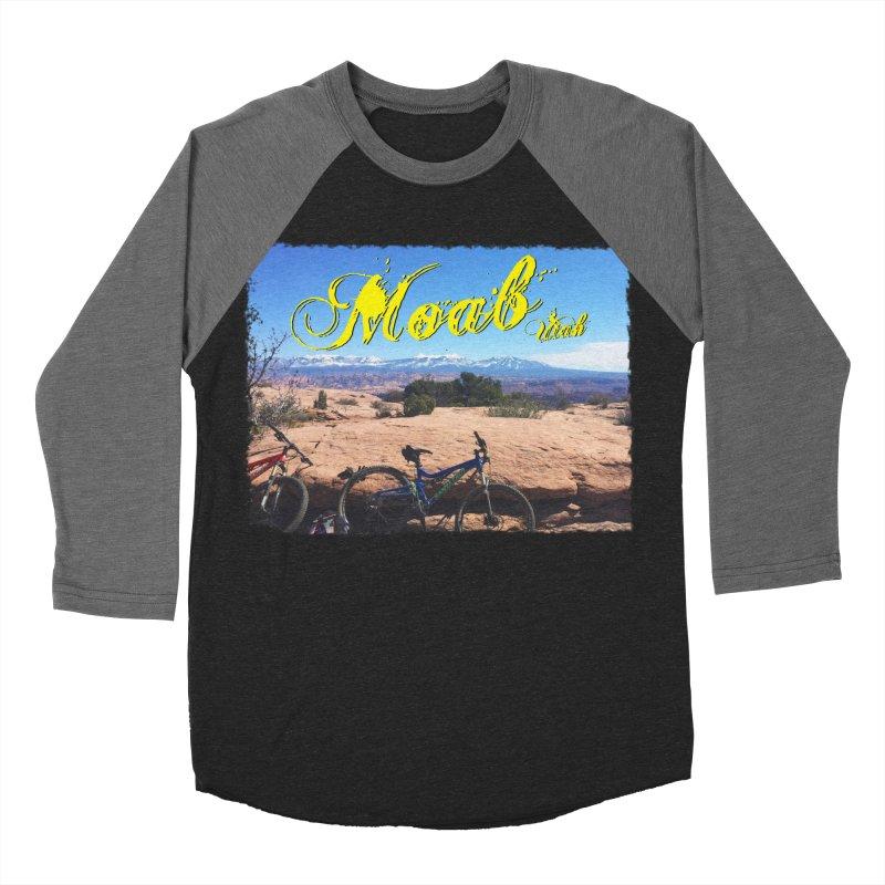 Moab Bliss Men's Baseball Triblend Longsleeve T-Shirt by Doctacon's Artist Shop