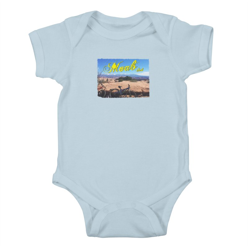 Moab Bliss Kids Baby Bodysuit by Doctacon's Artist Shop