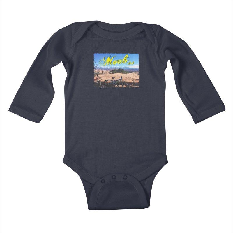 Moab Bliss Kids Baby Longsleeve Bodysuit by Doctacon's Artist Shop