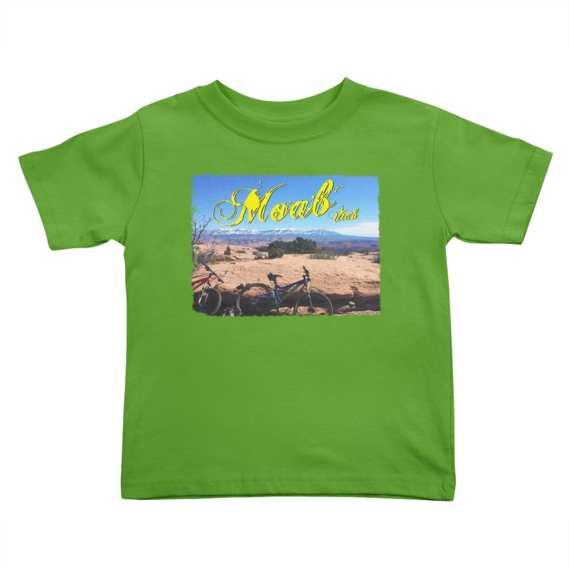 Moab Bliss Kids Toddler T-Shirt by Doctacon's Artist Shop