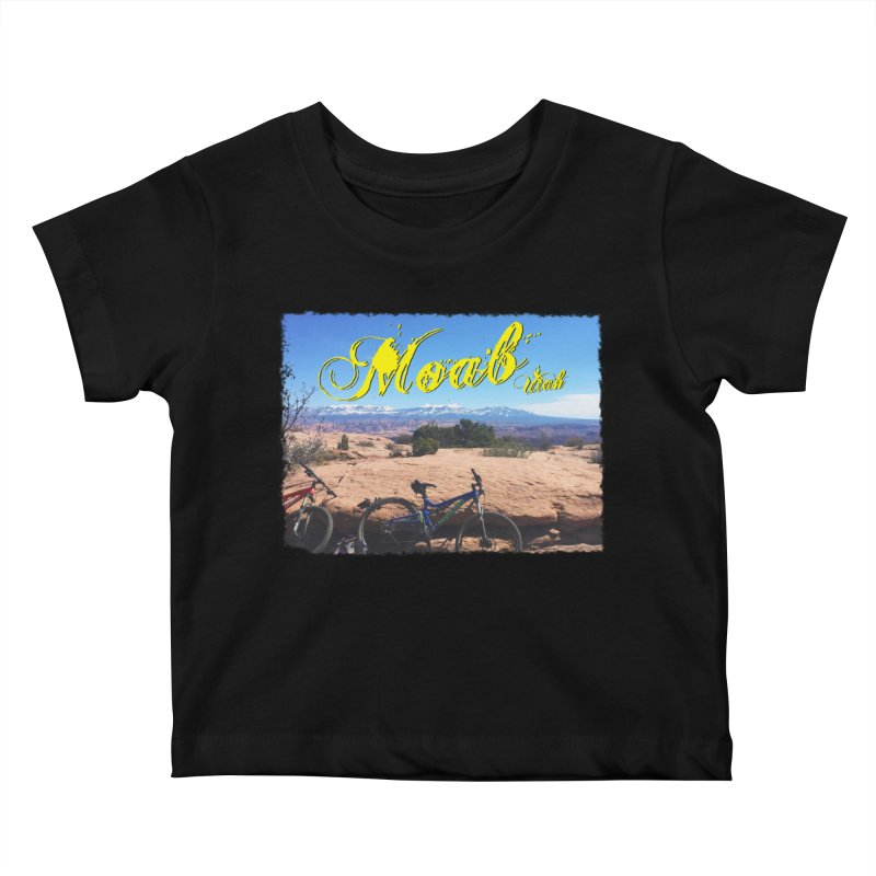 Moab Bliss Kids Baby T-Shirt by Doctacon's Artist Shop
