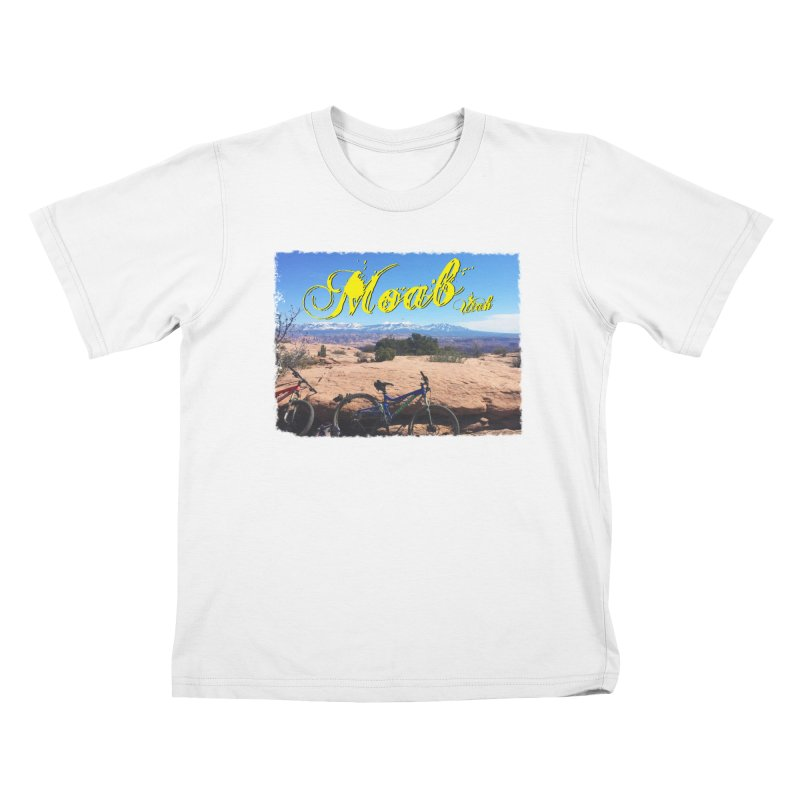 Moab Bliss Kids T-Shirt by Doctacon's Artist Shop