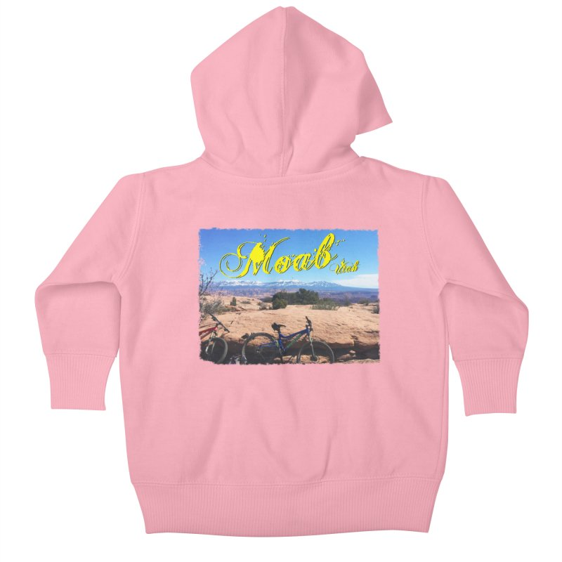 Moab Bliss Kids Baby Zip-Up Hoody by Doctacon's Artist Shop