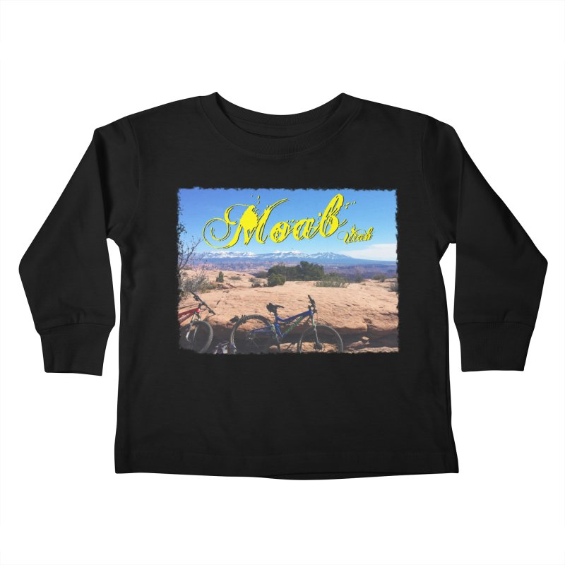 Moab Bliss Kids Toddler Longsleeve T-Shirt by Doctacon's Artist Shop