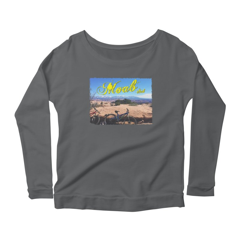 Moab Bliss Women's Scoop Neck Longsleeve T-Shirt by Doctacon's Artist Shop