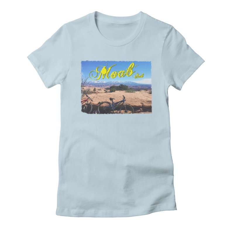 Moab Bliss Women's Fitted T-Shirt by Doctacon's Artist Shop