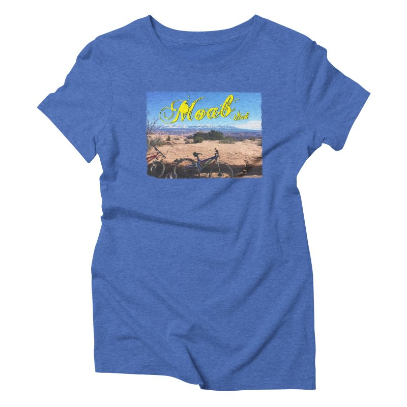 Moab Bliss Women's Triblend T-Shirt by Doctacon's Artist Shop