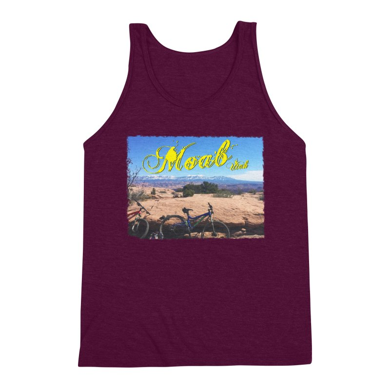 Moab Bliss Men's Triblend Tank by Doctacon's Artist Shop