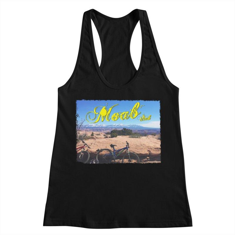 Moab Bliss Women's Racerback Tank by Doctacon's Artist Shop