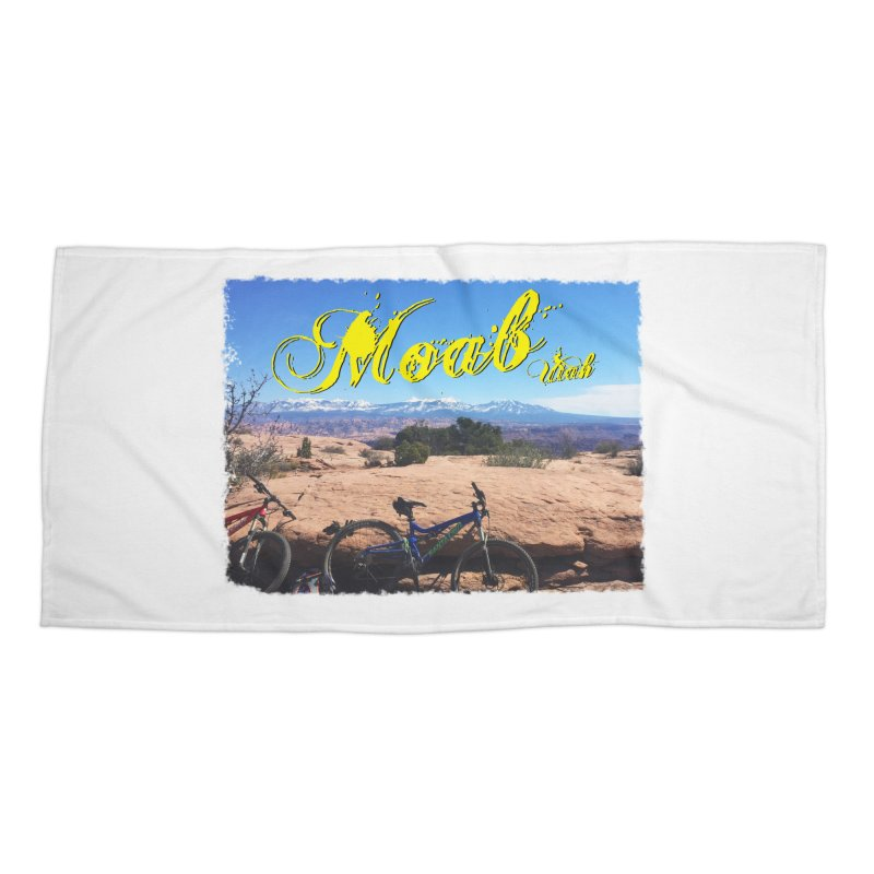 Moab Bliss Accessories Beach Towel by Doctacon's Artist Shop