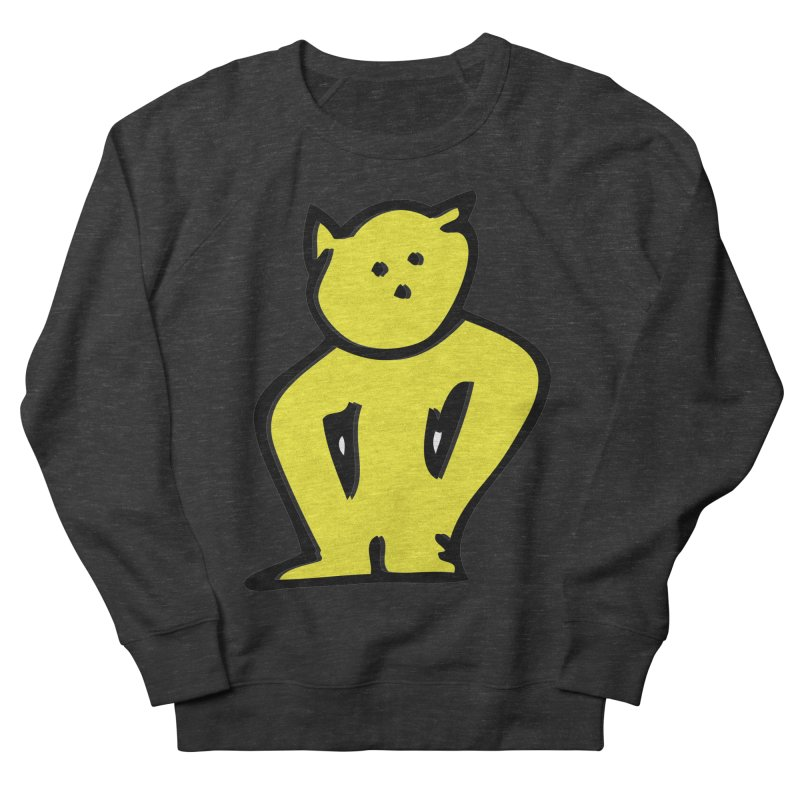 Dusty Cartoon Yellow Women's Sweatshirt by Doctacon's Artist Shop