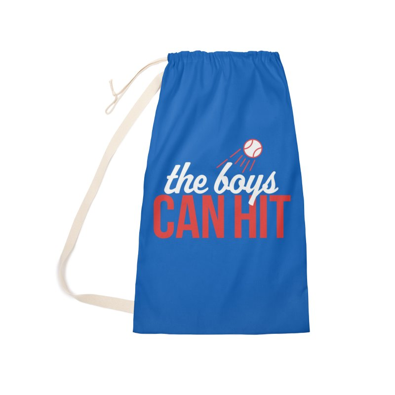 The Boys Can Hit Accessories Laundry Bag Bag by Official DodgerBlue.com Shop