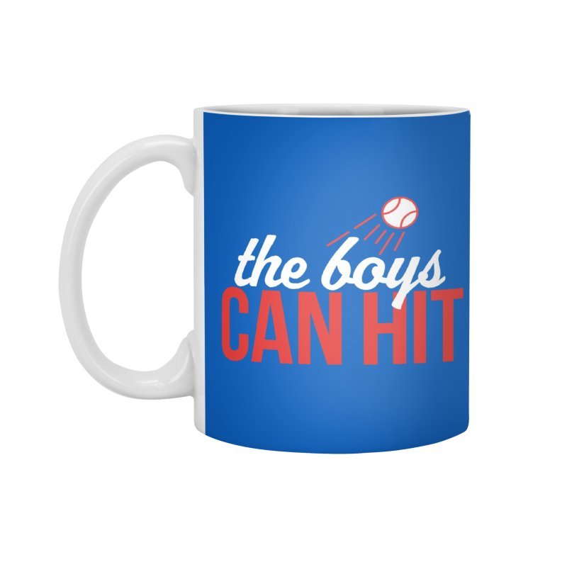 The Boys Can Hit Accessories Mug by Official DodgerBlue.com Shop