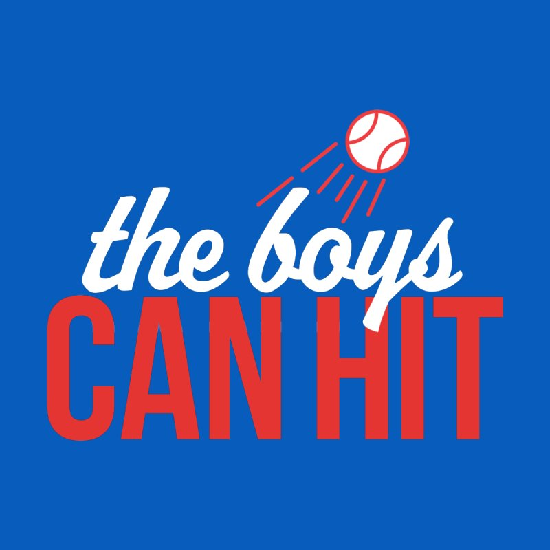 The Boys Can Hit Women's Scoop Neck by Official DodgerBlue.com Shop