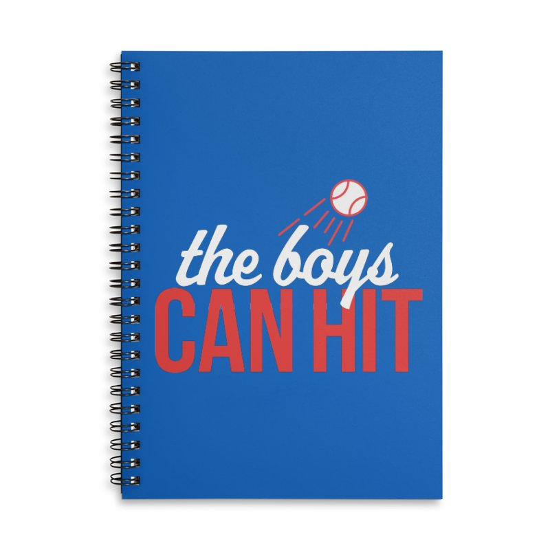 The Boys Can Hit Accessories Notebook by Official DodgerBlue.com Shop
